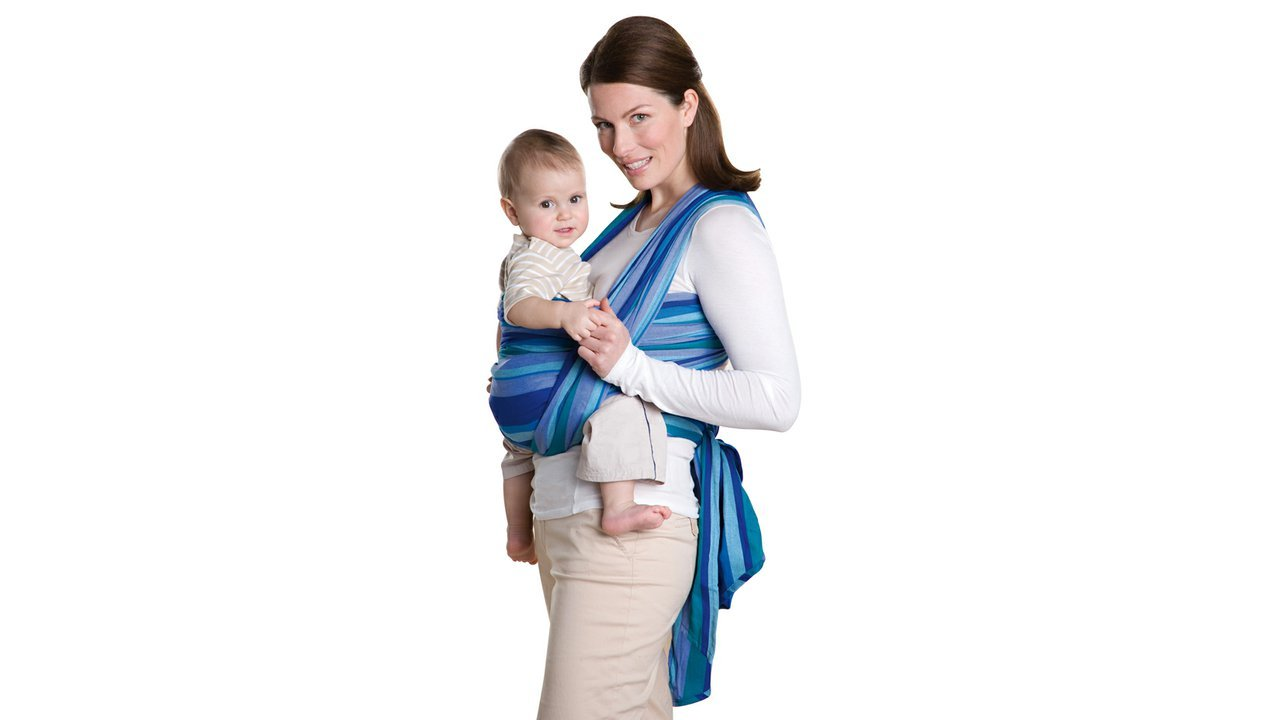 ... Šátek na nošení dětí Carry Sling laguna 450. Amazona Carry Sling laguna f85d61753e