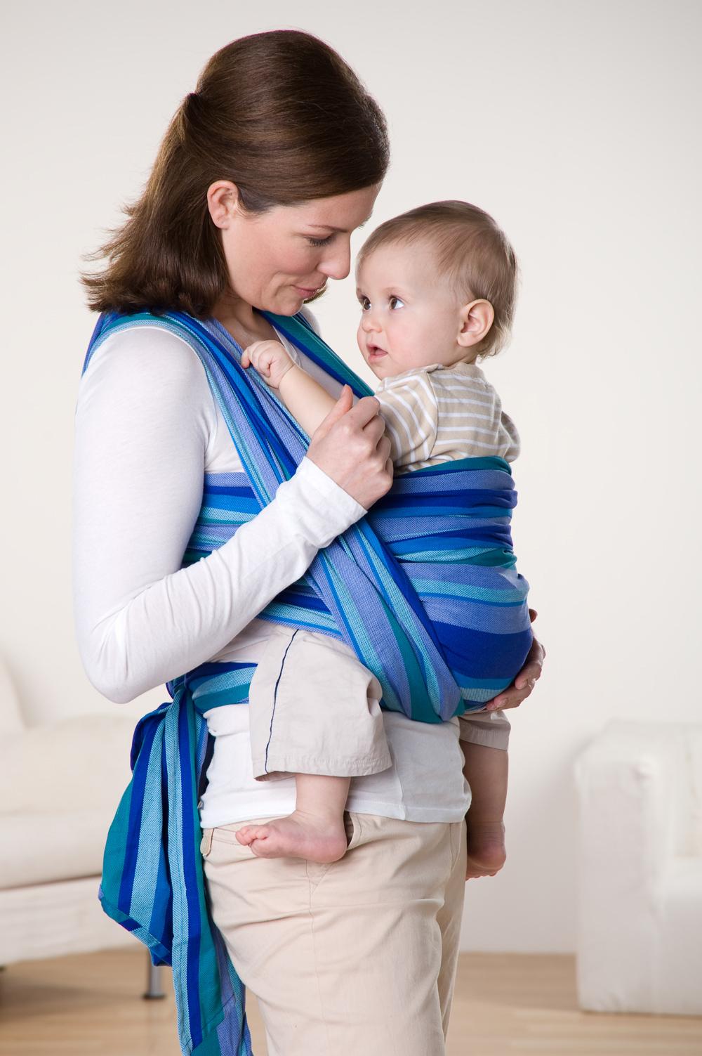 Šátek na nošení dětí Carry Sling Laguna 510  ccb5901e1f